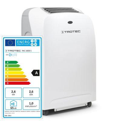 PAC 2600 S Helyi légkondicionáló berendezés Mutatás a Trotec Webshopban