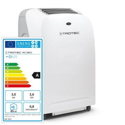 PAC 2000 S Helyi légkondicionáló berendezés Mutatás a Trotec Webshopban