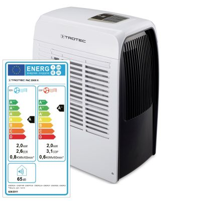 PAC 2000 X Helyi légkondicionáló berendezés Mutatás a Trotec Webshopban