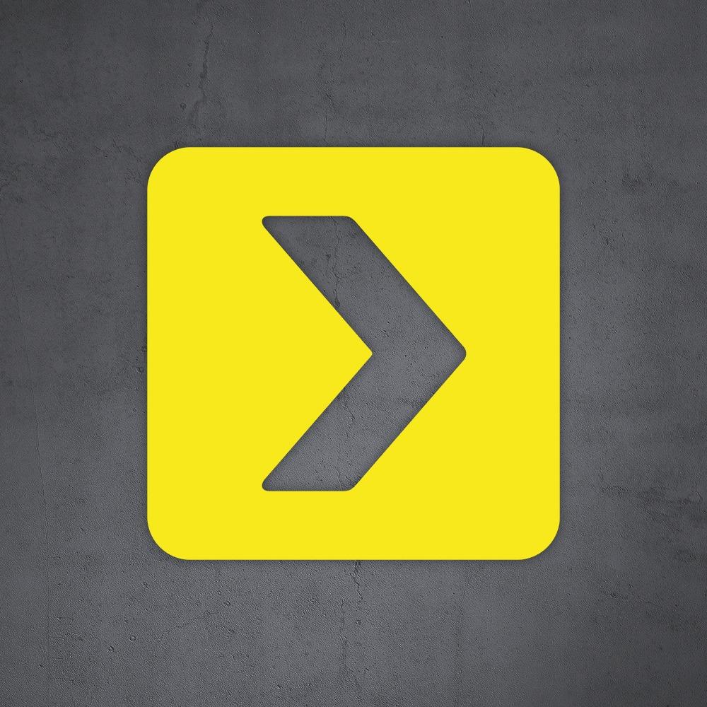 Beschermingspakket kantoortuin met TAC V+ in geel