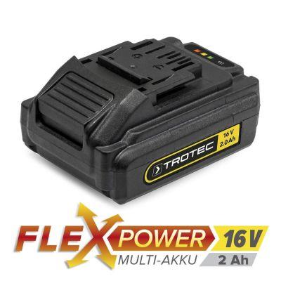 Extra accu Flexpower 16V 2,0 Ah