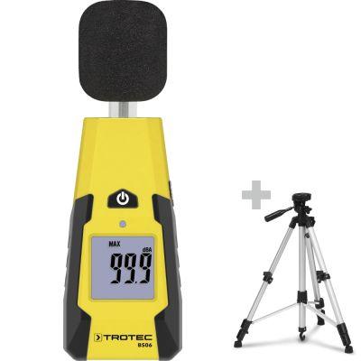 Geluidsmeter BS06 + Universeel driepoot-statief