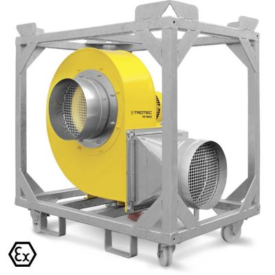 Radiaal ventilator TFV 100 Ex