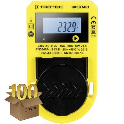 Energiekostenmeetapparaat BX50 MID in een pakket van 100 stuks