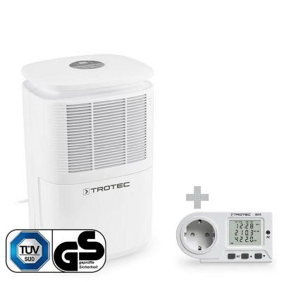 Luchtontvochtiger TTK 30 E + Energiekosten-meetapparaat BX11