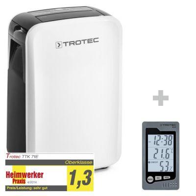 Luchtontvochtiger TTK 71 E + ruimte-thermohygrometer BZ05