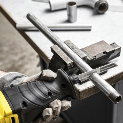 Säbelsäge PRCS 10-850 + Säbelsägeblätter-Set Holz/Metall, 12-teilig