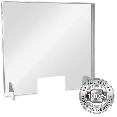 Baliescherm plexiglas met aerosolrand MEDIUM 795 x 250 x 750