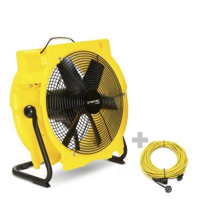 Ventilator TTV 4500 + professionele verlengkabel 20 m / 230 V / 2,5 mm²