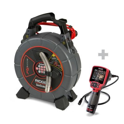 Inspectiecamera SeeSnake microReel + Digitale-Inspectiecamera micro CA-350