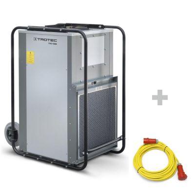 Bouwdroger TTK 1500 + professionele verlengkabel 20m / 400 V / 2,5mm²