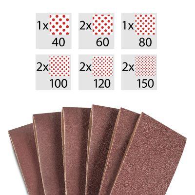 Bandschuurpapier-set 10-delig