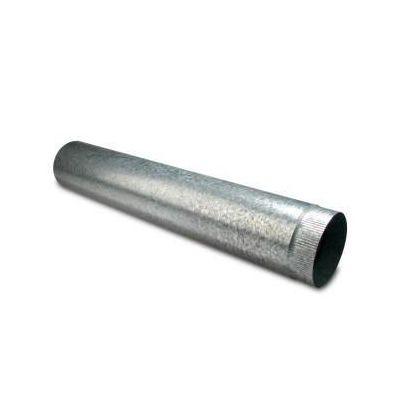 Uitlaatpijp star 150 mm / 1 m