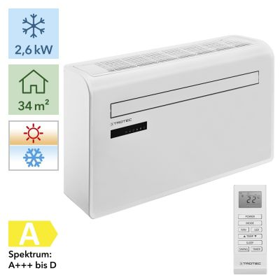 Monoblock airconditioner voor muurbevestiging PAC-W 2600 SH