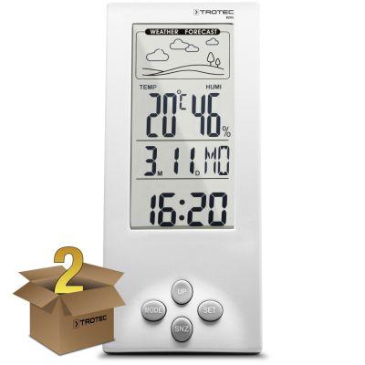 Thermohygrometer weerstation BZ06 in een pakket van 2