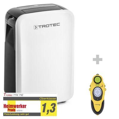 Luchtontvochtiger TTK 71 E + wallscanner BI15