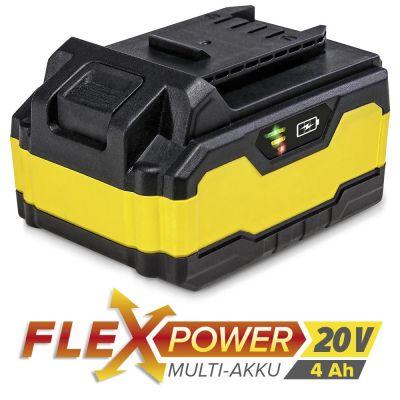 Extra accu Flexpower 20V 4,0 Ah