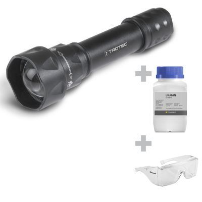 UV-Torchlight 15F + Uranine + Beschermbril