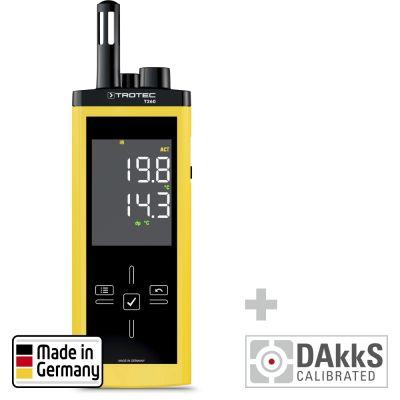 T260 Infrarood-Thermohygrometer - gecalibreerd naar DAkkS D.2102
