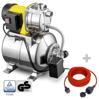 Huiswaterpomp TGP 1025 ES ES +  Kwaliteits verlengsnoer 15 m / 230 V / 1,5 mm²