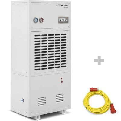 Industriële-ontvochtiger DH 105 S + professionele verlengkabel 20m / 400 V / 2,5mm²
