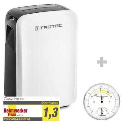 Luchtontvochtiger TTK 71 E + Thermo-hygrometer BZ15M