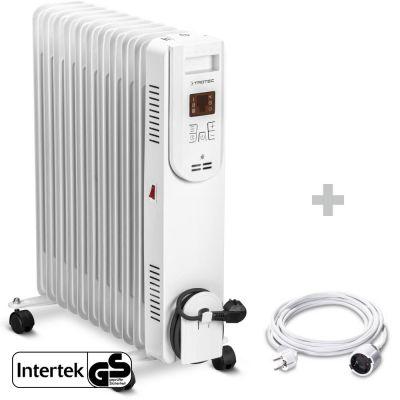 Olieradiator TRH 26 E + PVC verlengsnoer 5 m / 230 V / 1,5 mm²