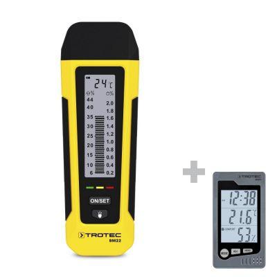 Vochtmeter BM22 + ruimte-thermohygrometer BZ05
