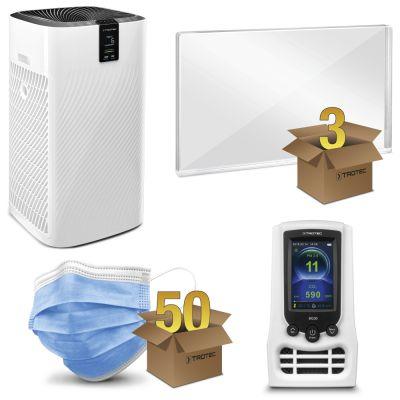 Beschermingspakket kantoor medium met AirgoClean® 250 E