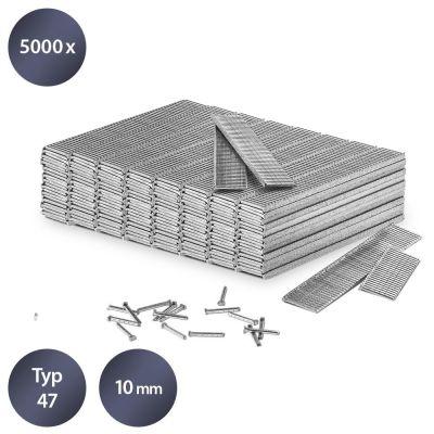 Tackernagels-set type 47, lengte 10 mm (5000 stuks)