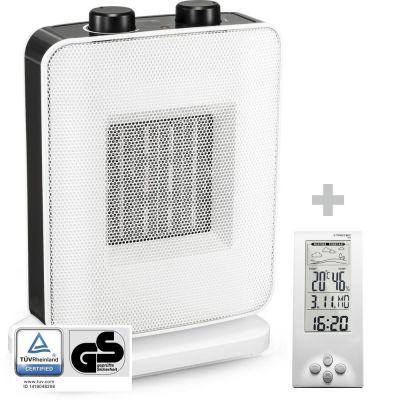 Elektrische kachel TFC 15 E + Design-weerstation BZ06
