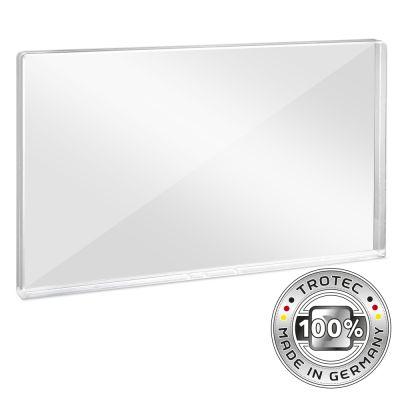 Bureau-scherm plexiglas met aerosol-rand 1158 x 69 x 688