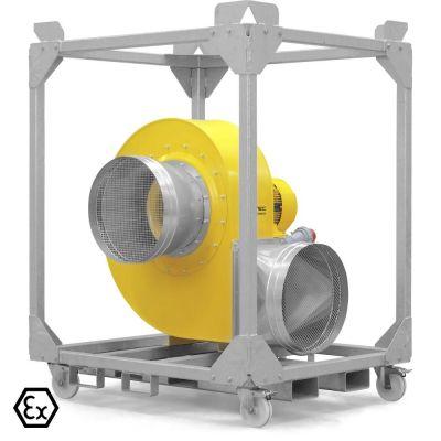 Radiaal ventilator TFV 600 Ex