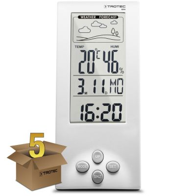 Thermohygrometer weerstation BZ06 in een pakket van 5