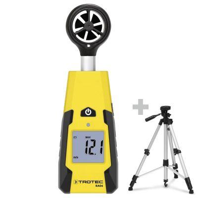 Schoepenwiel-Anemometer BA06 + Universeel driepoot-statief