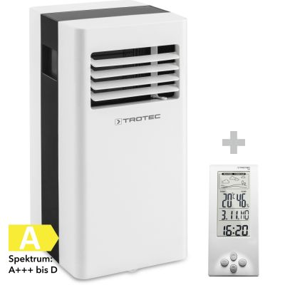 Lokale airconditioner PAC 2600 X + Design-weerstation BZ06