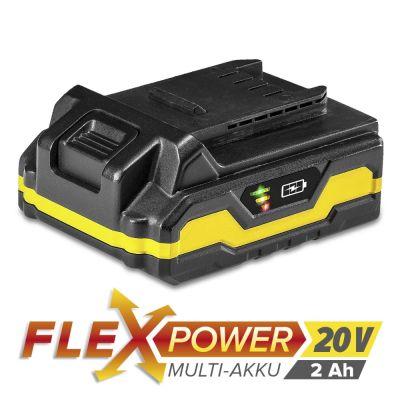 Extra accu Flexpower 20V 2,0 Ah