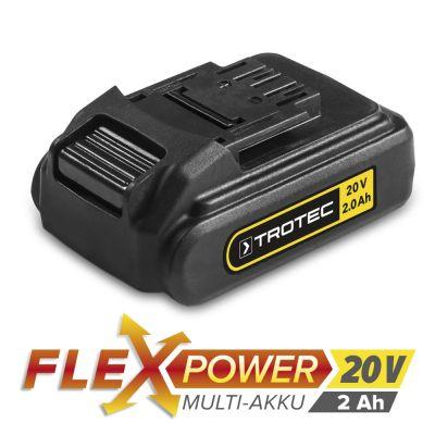Extra accu Flexpower 20V 2.000 Ah