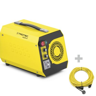 Geurbestrijders AirgoPro 8 + professionele verlengkabel 20 m / 230 V / 2,5 mm²