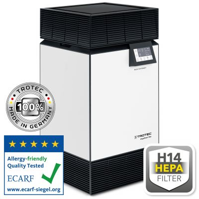 H14 luchtreiniger met hoog vermogen AirgoClean® ONE