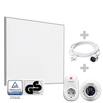 TIH 300 S Infrarood-verwarmingsplaat + Draadloze klokthermostaat BN35 + PVC kabel