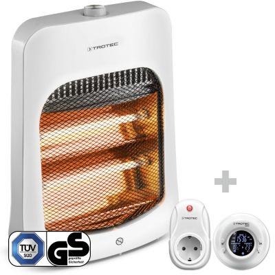 Infrarood Straalkachel IRS 800 E + Draadloze klok-thermostaat BN35