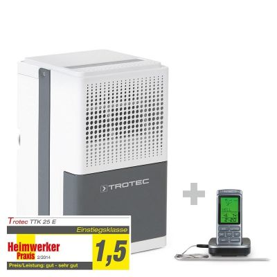 Luchtontvochtiger TTK 25 E + Barbecue thermometer BT40