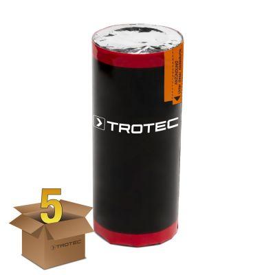 Rookgaspatroon, rood, rookgasduur: 90 s - pakket van 5 stuks