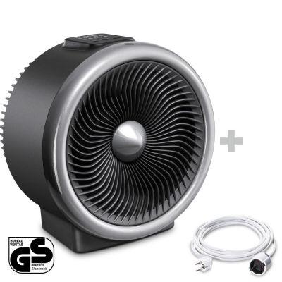 TFH 2000 E Elektrische ventilatorkachel + PVC verlengsnoer