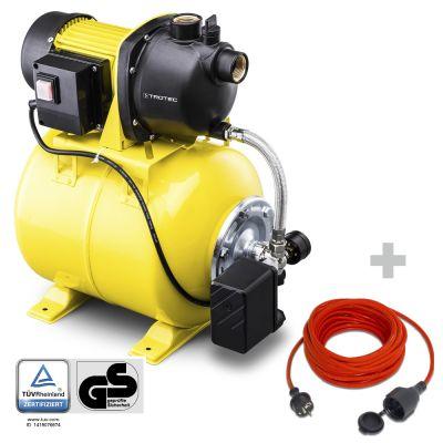 Huishoudwatervoorziening TGP 1025 E + Kwaliteits verlengsnoer 15 m / 230 V / 1,5 mm²