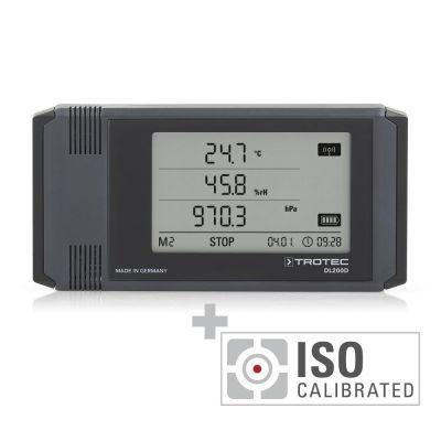 Professionele datalogger DL200D - gecalibreerd naar ISO I.2101
