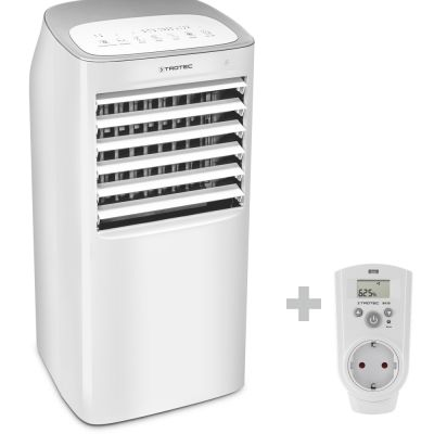 Aircooler, luchtkoeler, luchtbevochtiger PAE 40 + Stopcontact-hygrostaat BH30