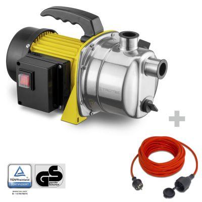 Tuinpomp TGP 1000 ES + Kwaliteits verlengsnoer 15 m / 230 V / 1,5 mm²