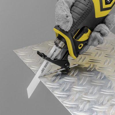 Akku-Säbelsäge PRCS 10-20V + Säbelsägeblätter-Set Holz/Metall, 12-teilig